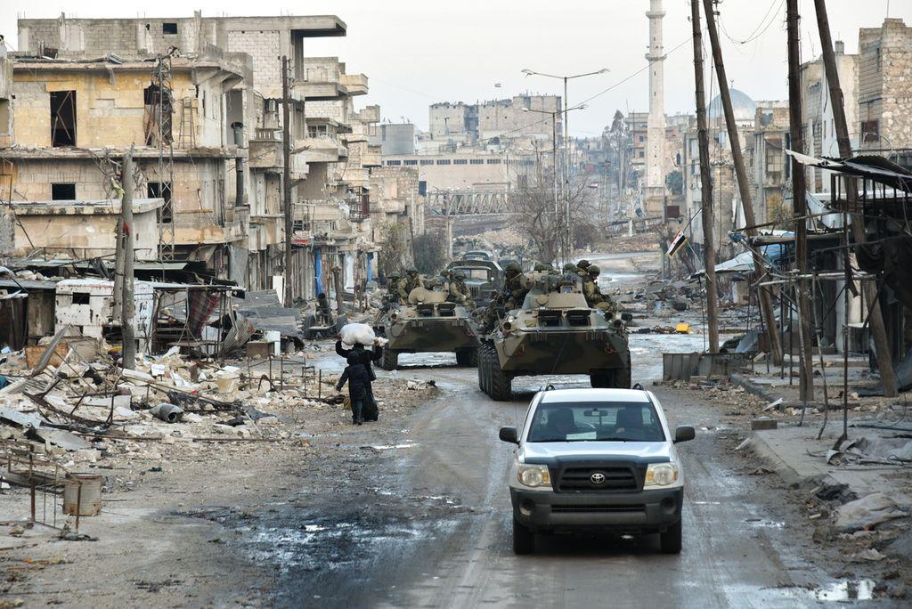International Mine Action Centre in Aleppo, Syria